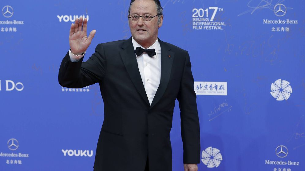 Foto: Jean Reno, en el Beijing International Film Festival. (Getty)