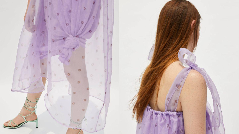 La originalidad de este vestido es genial.  (Cortesía)