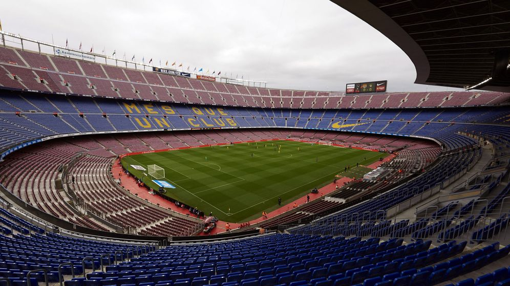 Foto: El estadio Camp Nou. (EFE)