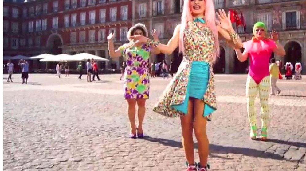 Foto: Lorace en la Plaza Mayor