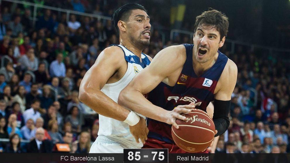 Tomic y Perperoglou capitanean el repaso del Barça al Madrid en el Clásico