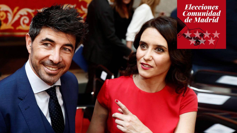 Foto: Jairo Alonso e Isabel Díaz Ayuso. (EFE)