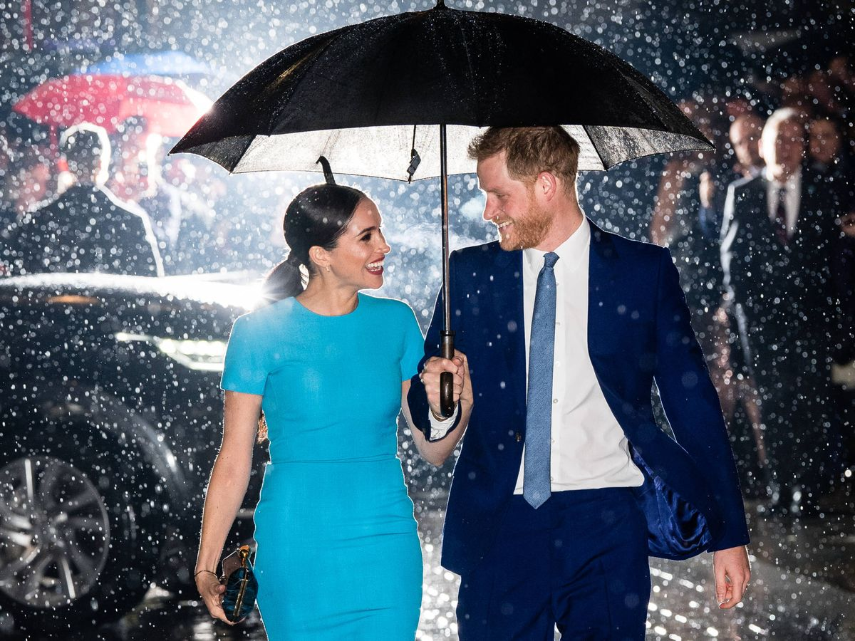 Foto: Meghan y Harry, en su esperada reaparición, el pasado marzo en Londres. (Getty)