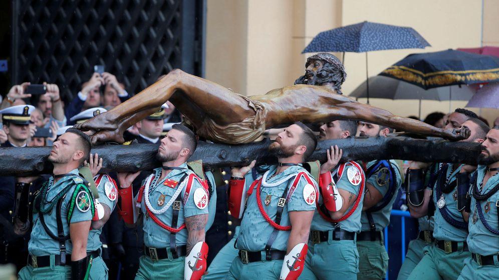 Foto: Traslado del Cristo de la Buena Muerte de la Semana Santa de 2019. (Reuters)