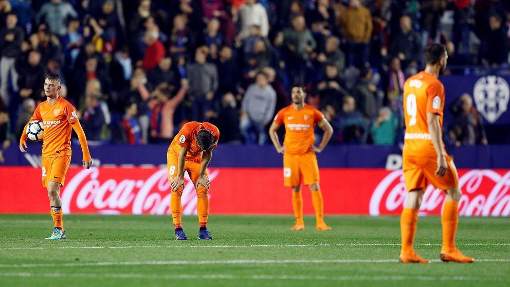 El Málaga CF, del caos al descenso: la afición carga contra el jeque Al-Thani en Twitter
