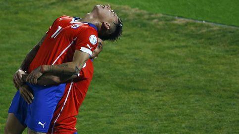 Una expulsión, dos de Vargas y nueva final para Chile en una Copa América