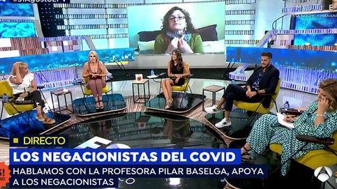 No me invitan para llamarme majadera: una profesora negacionista indigna 'EP'