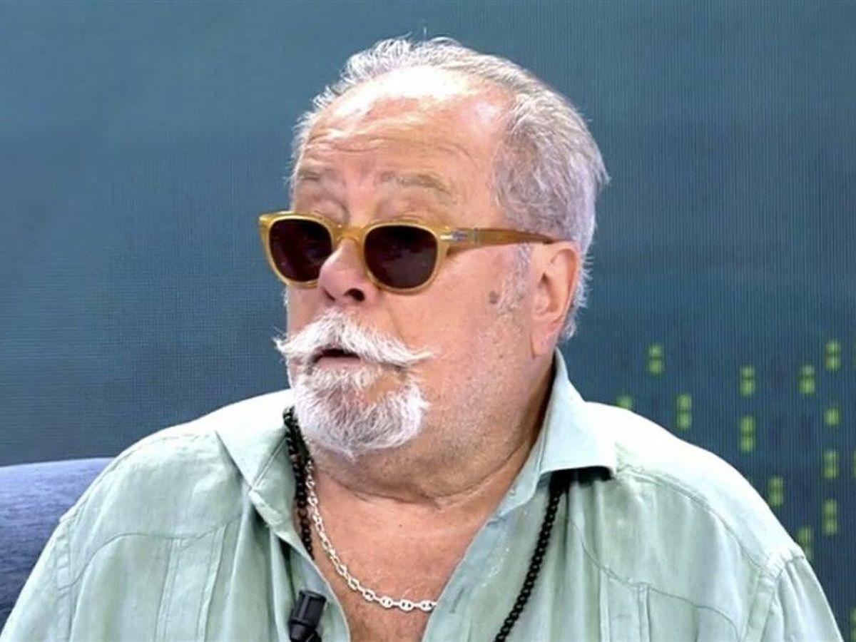 Foto: Arévalo, durante su polémica aparición en el 'Deluxe'. (Mediaset)