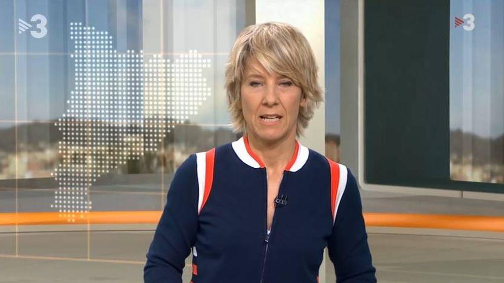 Foto: Presentadora de 3/24 de TV3. (CCMA).
