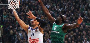 Post de El Panathinaikos castiga los numerosos errores del Real Madrid