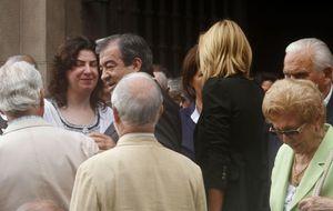 El funeral de la madre de Francisco Álvarez Cascos une al PP y Foro Asturias