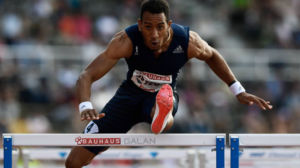 Foto: Orlando Ortega Diamond League Estocolmo (AFP)