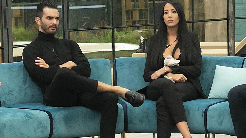 Suso Álvarez y Aurah Ruiz en 'GH VIP 6'. (Mediaset España)