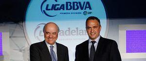 Foto: BBVA renueva el patrocinio de la Liga Española por 75 millones de euros