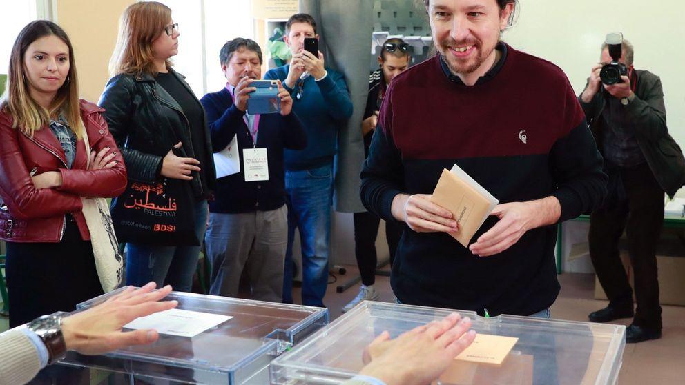 Tensión y optimismo contenido en Podemos al cierre de urnas en un día trascendental