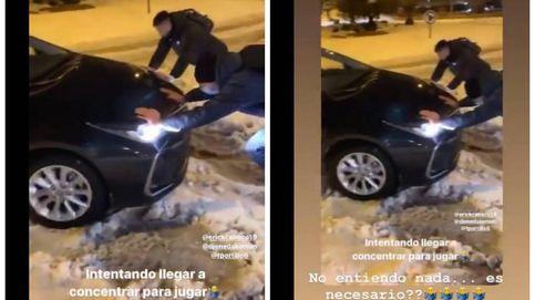 LaLiga se niega a aplazar el Elche-Getafe y los azulones terminan empujando coches