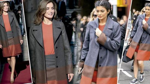 Letizia se inspira en Kylie Jenner: ¿quién lleva mejor este modelito de Hugo Boss?
