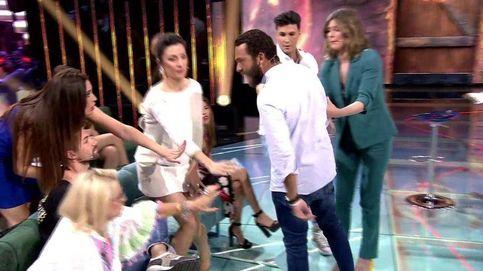Alberto Isla, a punto de agredir a Alejandro Albalá en 'Supervivientes 2018'