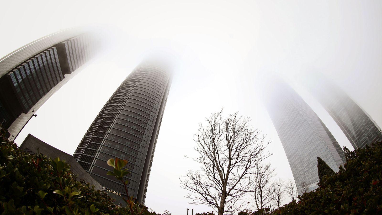 Foto: Vista de las Cuatro Torres