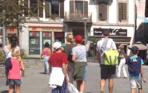 Los duques de Palma siguen de turismo en Ginebra