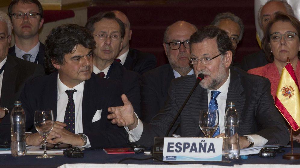 Foto: Jorge Moragas y Mariano Rajoy. (Efe)