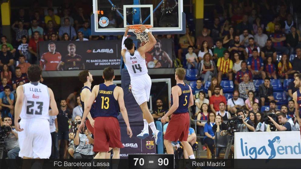 Llull y Ayón le roban al Barcelona el factor cancha en la final de la ACB