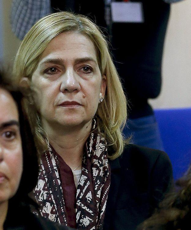 Foto: La Infanta Cristina en el banquillo de los acusados. (EFE)