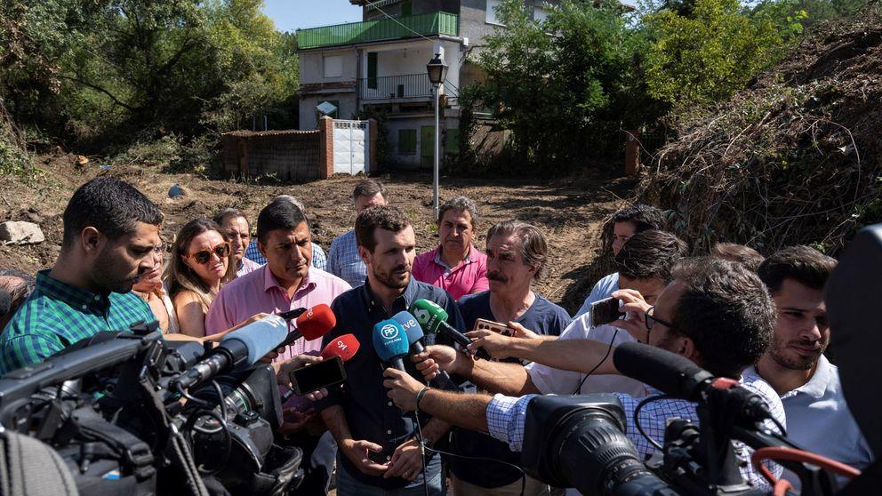 Casado critica a Sánchez por ignorar a Podemos cuando sí pactan en las CCAA