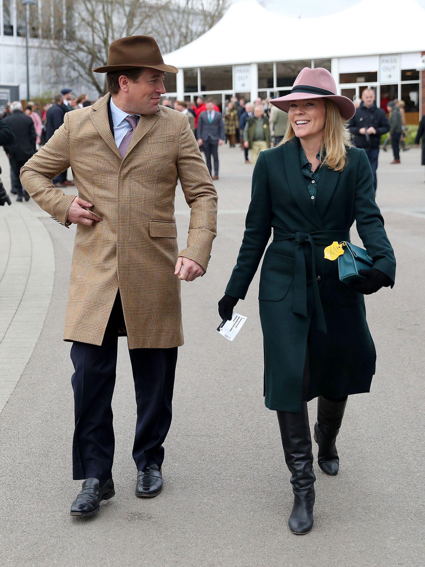 Autumn y Peter Phillips, en una imagen de archivo. (Reuters)