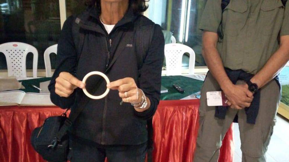 Una española, liberada tras ser acusada de tráfico de marfil en Kenia por un brazalete