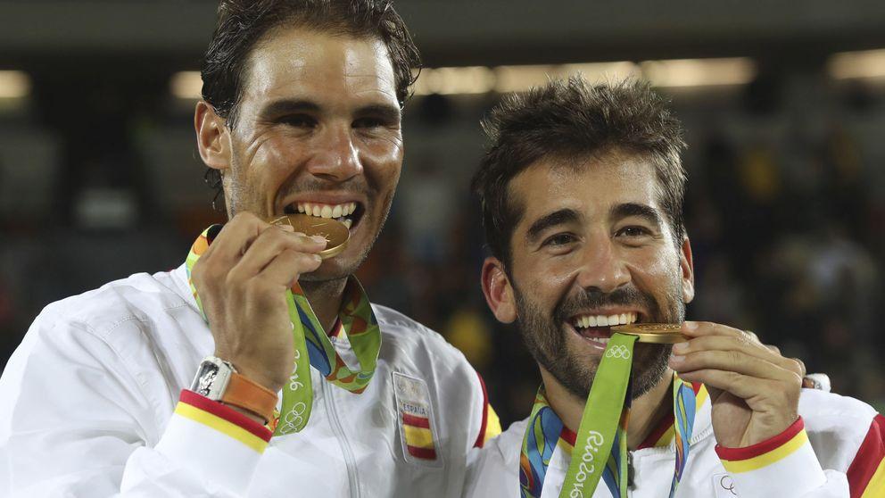 Las escuchas a la mafia del tenis implican a Marc López, oro con Rafa Nadal en Río 2016