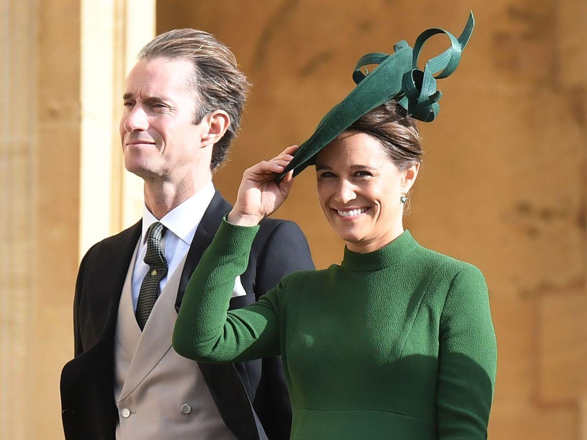 Foto: Pippa Middleton y James Matthews. (EFE)