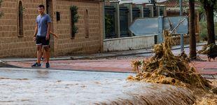 Post de Del rescate de un niño al derrumbe de edificios: la DANA causa estragos en Toledo