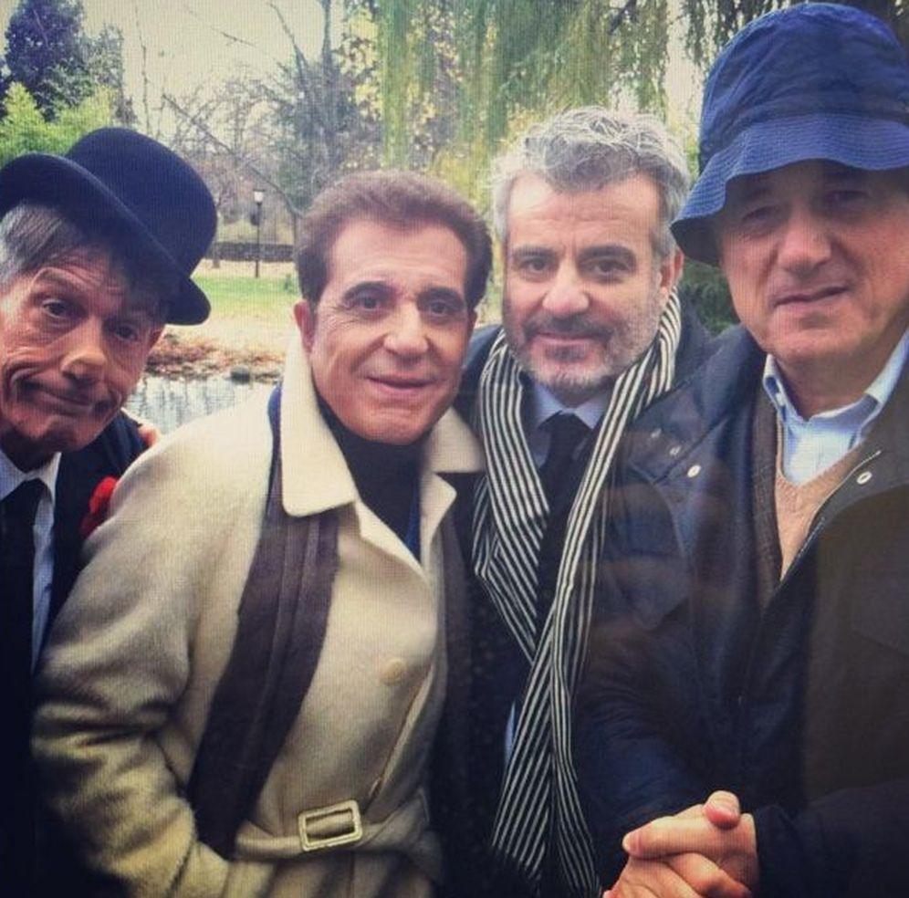 Foto: Fofito, Pajares, Millán y Josema Yuste (Instagram)