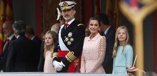 Post de En DIRECTO: Felipe y Letizia en la Fiesta Nacional y la posterior recepción