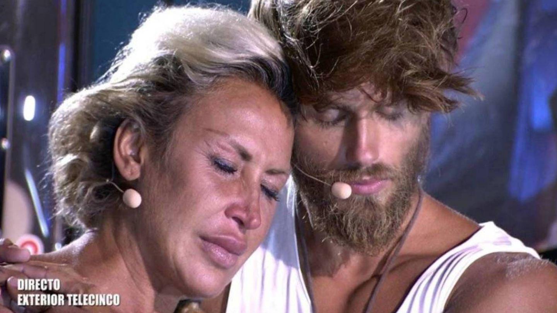 Raquel Mosquera y Sergio Carvajal esperan el veredicto de la audiencia de 'Supervivientes 2018'. (Telecinco)