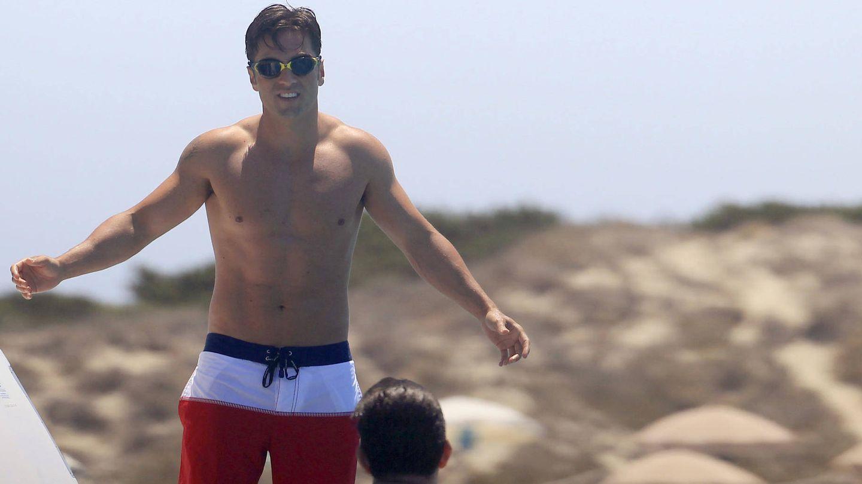David Bustamante, en Ibiza. (Gtres)