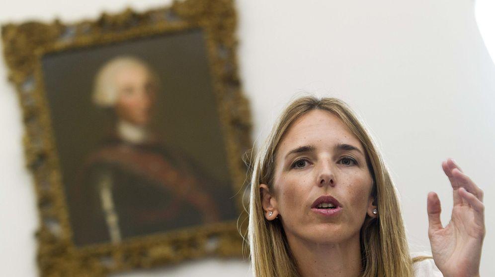 Foto: La exdiputada del PP y directora del Área Internacional de FAES, Cayetana Álvarez de Toledo. (EFE)