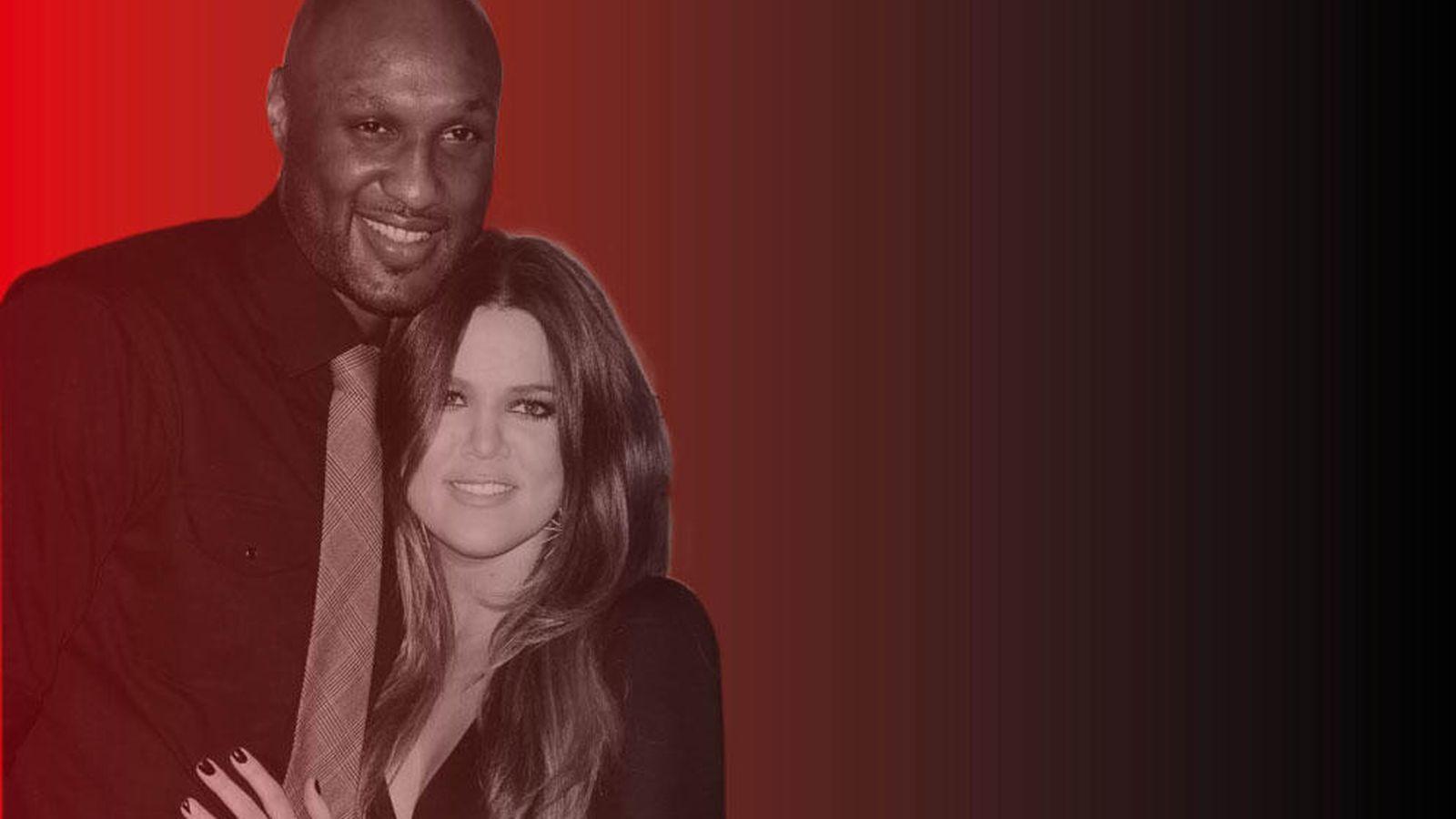 Foto: Khloé Kardashian y Lamar Odom