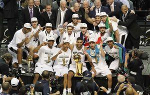 Los Spurs y su 'viejo juego aburrido de siempre' logran su quinto anillo
