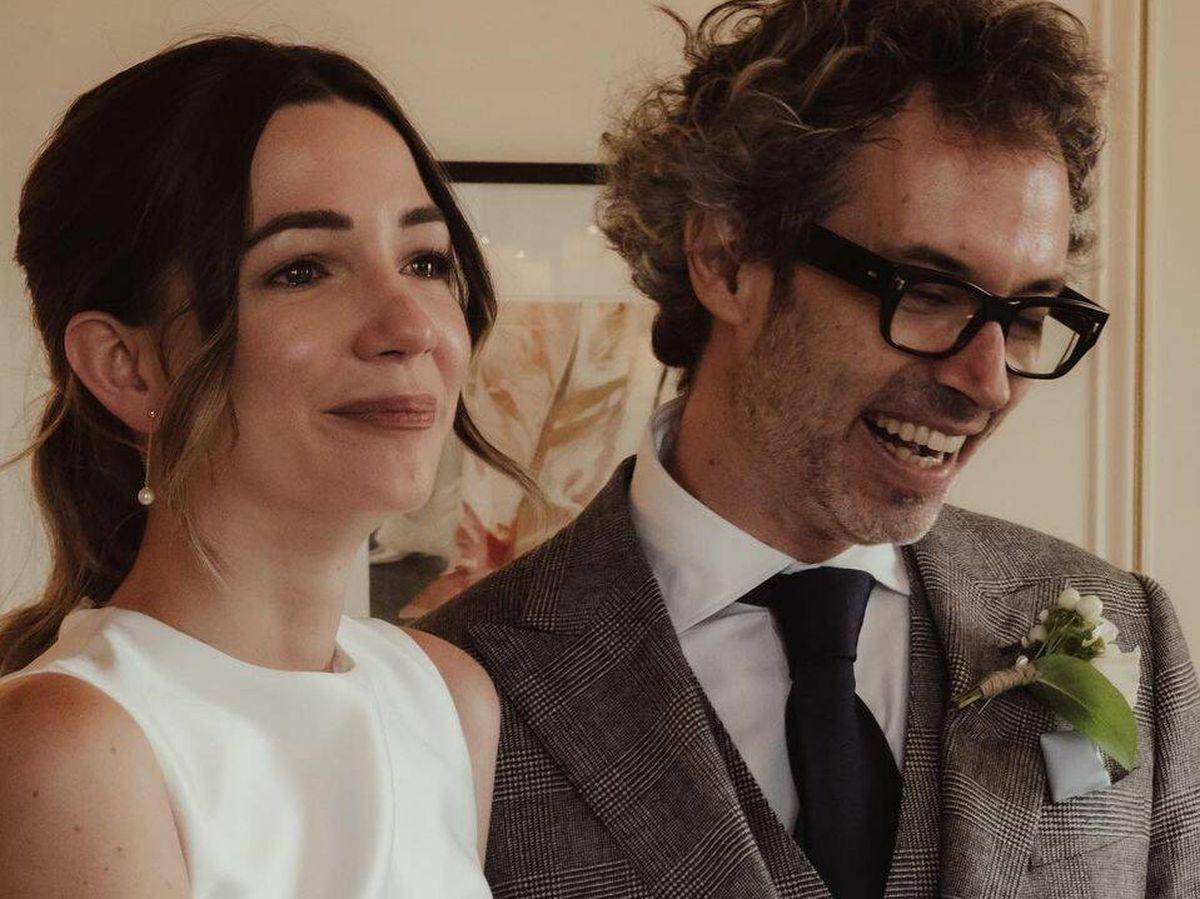 Foto: James Rhodes y Micaela Breque contraen matrimonio en una íntima ceremonia. (Instagram @jamesrodhes)