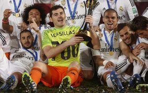 Casillas se tiró al lado correcto para completar su álbum con el Madrid