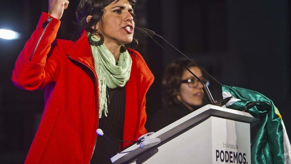 Teresa Rodríguez, líder de Podemos en Andalucía bajo tutela de Iglesias
