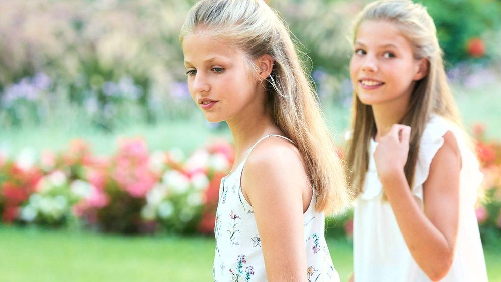 De las alpargatas a las menorquinas, los zapatos de verano de Leonor y Sofía