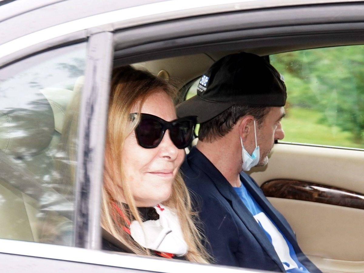 Foto: Ana Obregón y Lequio, a su llegada a Madrid. (Cordon Press)