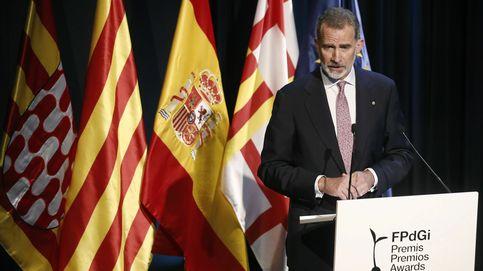 El Rey pide en Cataluña trabajar estrechamente unidos para la recuperación