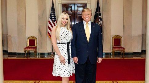 Donald Trump se despide de la Casa Blanca anunciando la boda de su hija Tiffany