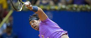 Rafael Nadal derrota a Nalbandian y gana el Abierto de Brasil