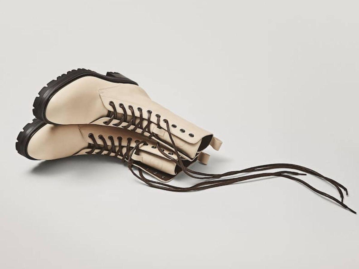 Foto: Los botines de Massimo Dutti. (Cortesía)