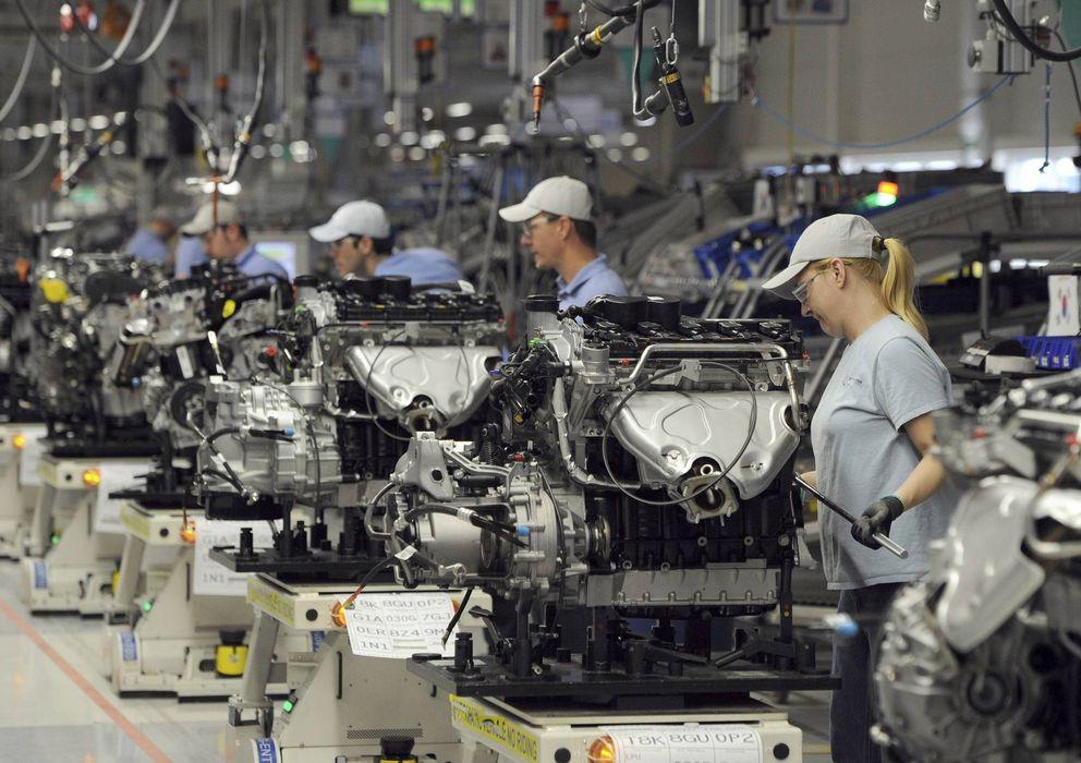Foto: Imagen de archivo de una planta de Volkswagen (EFE)